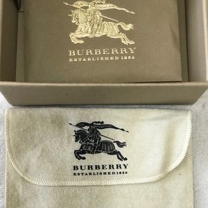 Burberry Wallet/Card Holder Dust Bag and Box